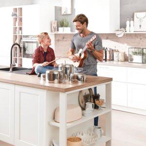 Küchenplaner, weiße Küche, Landhausstil