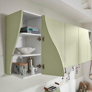 Küchenplaner, Schränke, grün